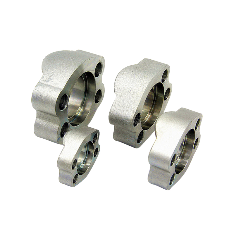 SAE J518 code 62 Flange Clamps with Tapped Metric hole