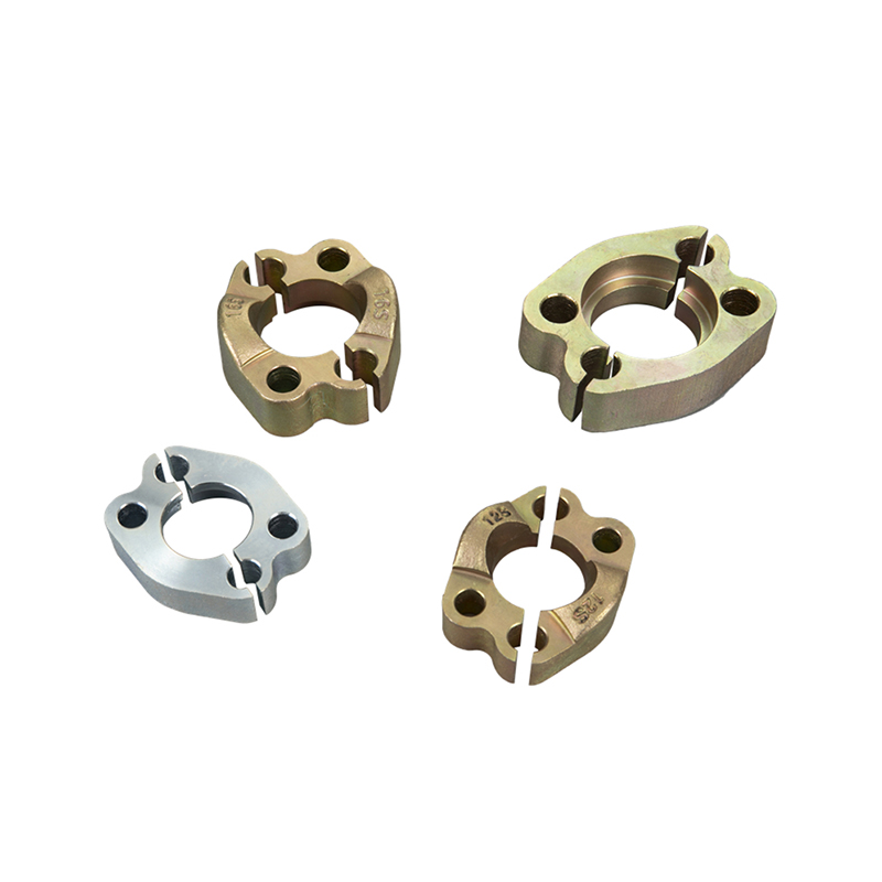 SAE flange custom split halves clamp